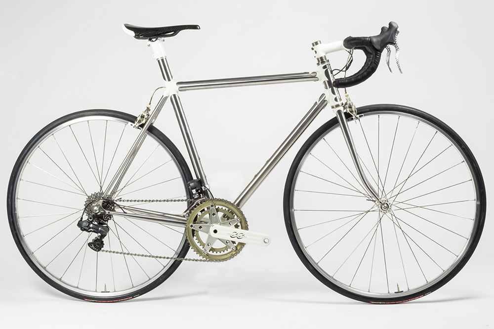 "Our final sequential shifting Di2 chip went onto this <a href=""https://fairwheelbikes.com/c/bedford-stainless-w-sequential-di2/"" target=""_blank"">stainless Kelly Bedford. </a>"