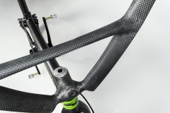 Enve stem, Bombshell bar with bonding by Calfee