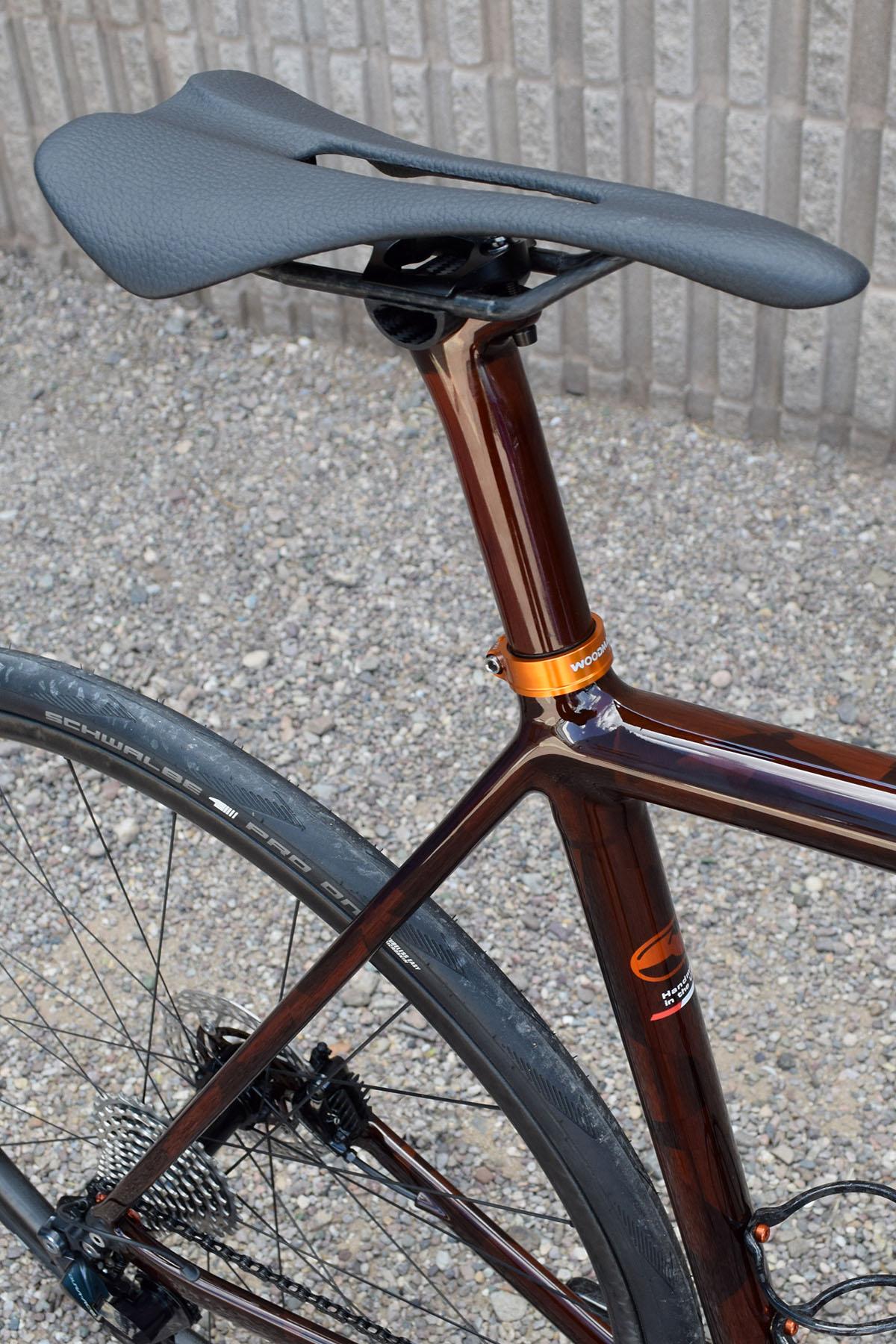 saddle seattube