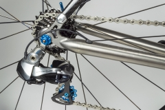 Di2 Shifting and Blue Derailleur pulleys