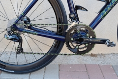 Thm Clavicula SE cranks with matching Carbon-ti bolts and Praxis rings