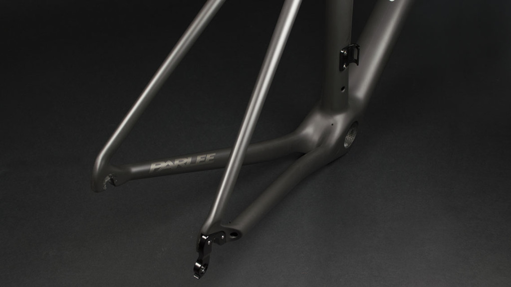 The rear triangle of the Parlee Altum