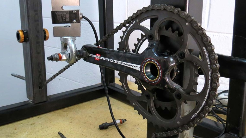 Road Bike Crank Test - Fairwheel Bikes Blog