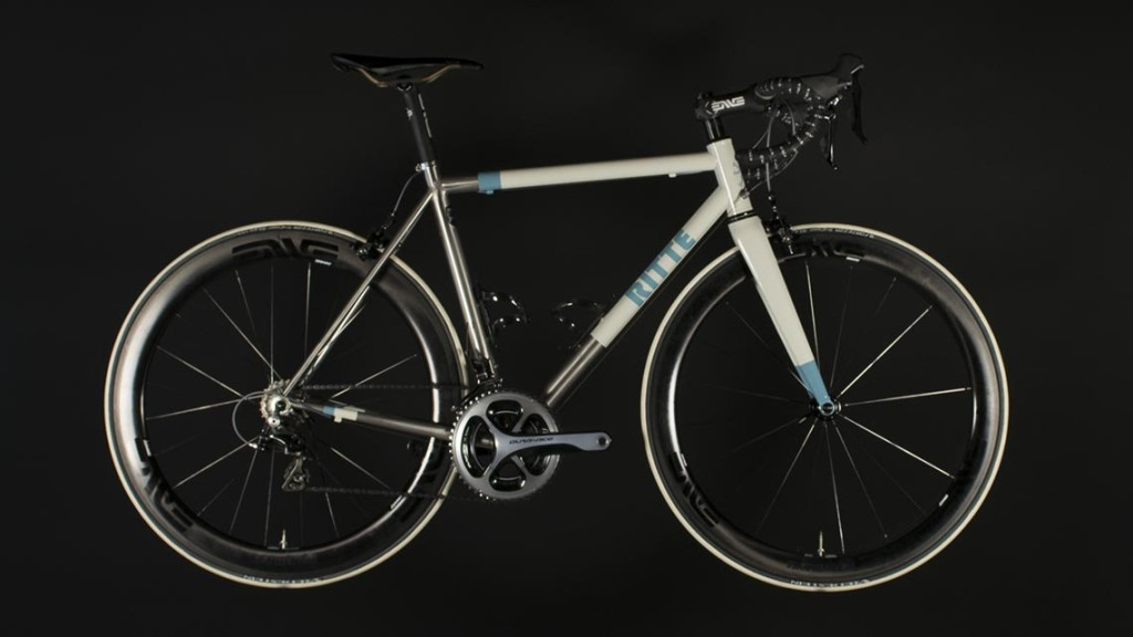 Our Ritte Snob build with ENVE 4.5 wheels.
